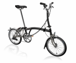 2020 Brompton M6L Superlight Black Home Delivery