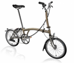 2020 Brompton M6L Superlight Raw Home Delivery