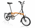 2020 Brompton M6L Orange/Black Home Delivery
