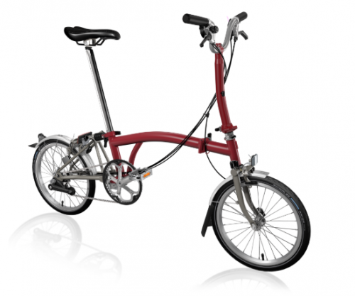 2020 Brompton M6L Superlight House Red Home delivery