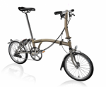 2020 Brompton S6L Superlight Raw Home Delivery