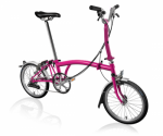 2020 Brompton M6L Hot pink Home Delivery