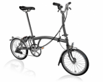 2020 Brompton M6L Metallic Graphite Home Delivery
