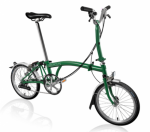 2020 Brompton M6L Racing Green Home Delivery
