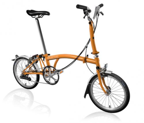2020 Brompton M6L Orange