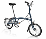 2020 Brompton M6L Tempest Blue Home Delivery