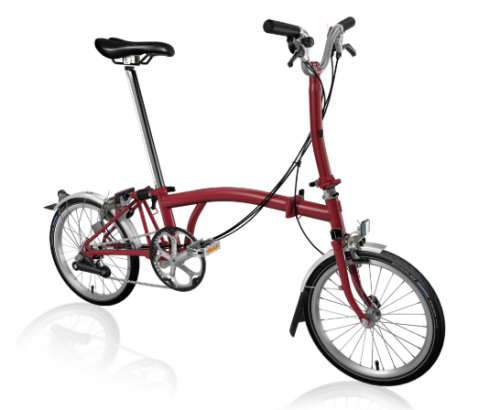 2020 Brompton M6L House Red