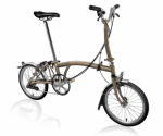 2020 Brompton M6L Raw Laquer Home Delivery