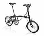 2020 Brompton S2L Black Home Delivery