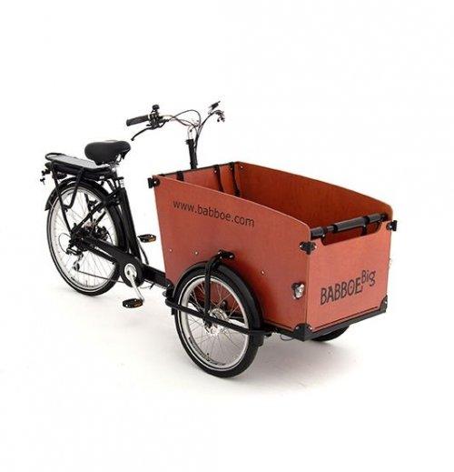 Babboe Big E Cargo Bike Wood