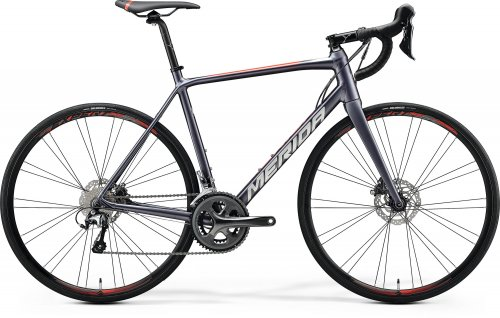 Merida Scultura Disc 300 Dark Silver/Red 700c