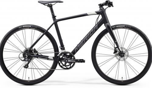 Merida Speeder Hyrbid 200 - (XS) 47cm Black/Silver 700c