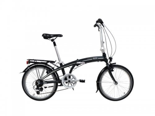 "Freespirit Ruck 20"" Wheel Folding Bike Black"
