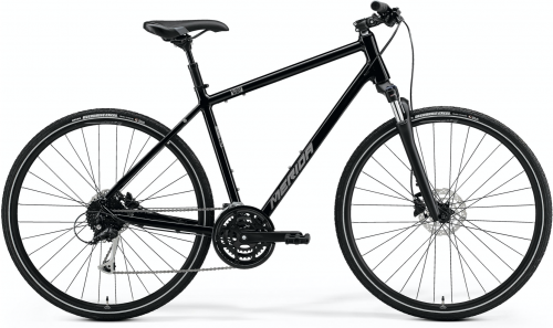 Merida Crossway 100 Black/Silver Medium