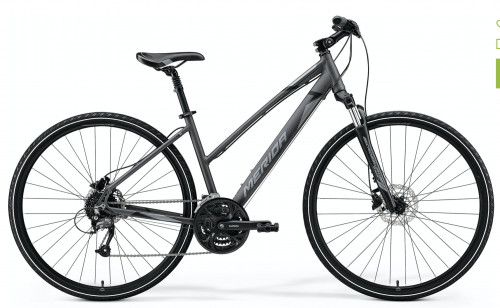 Merida Crossway 40 Women's - (M) 51cm Grey/Black