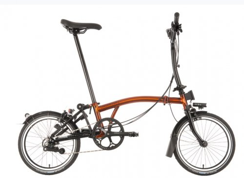 Brompton M6L FLame Laquer Black Edtion