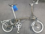 Brompton M6R Gloss Black Lacquer + extras