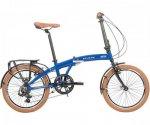 2021 Raleigh Stowaway Blue folding bike